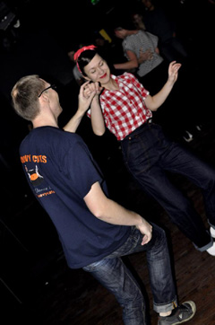 jeans and trousers on dance floor